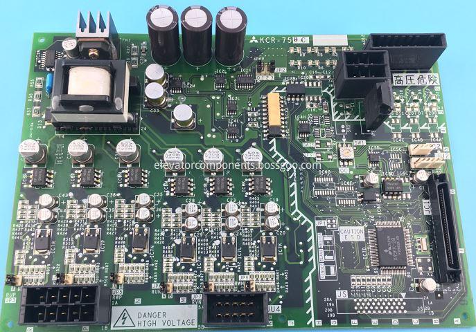 Mitsubishi GPS-3 Elevator Driving Board KCR-759C