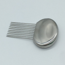 10-Prong Stainless Steel Onion Tomato Vegetable Lemon Holder