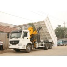 Sinotruk Truck with Crane, Crane Truck, Crane Dump Truck