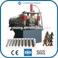 Прошел CE и ISO YD-7129 Полноавтоматический PLC управления Топ Hat Purlin профилепрофилегибочная машина
