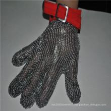Gant de sécurité en acier inoxydable résistant aux coupures