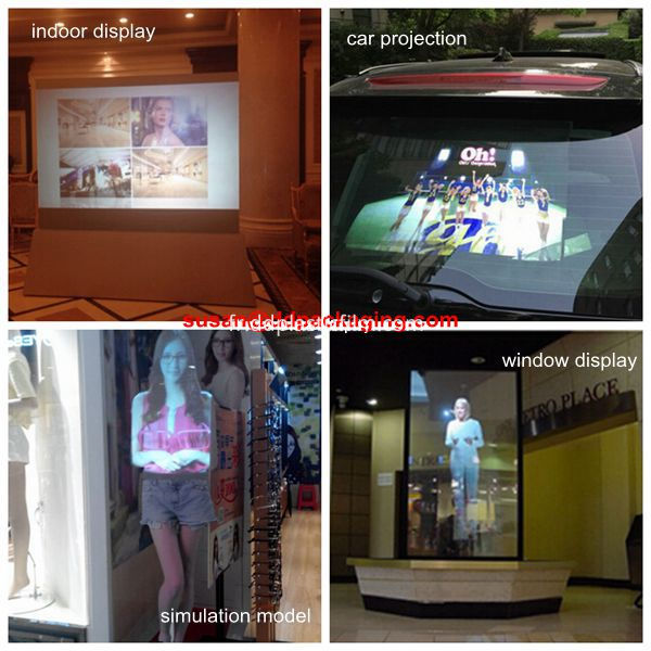 rear projection film application_