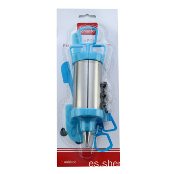 Cookie Press Gun set con puntas decorativas