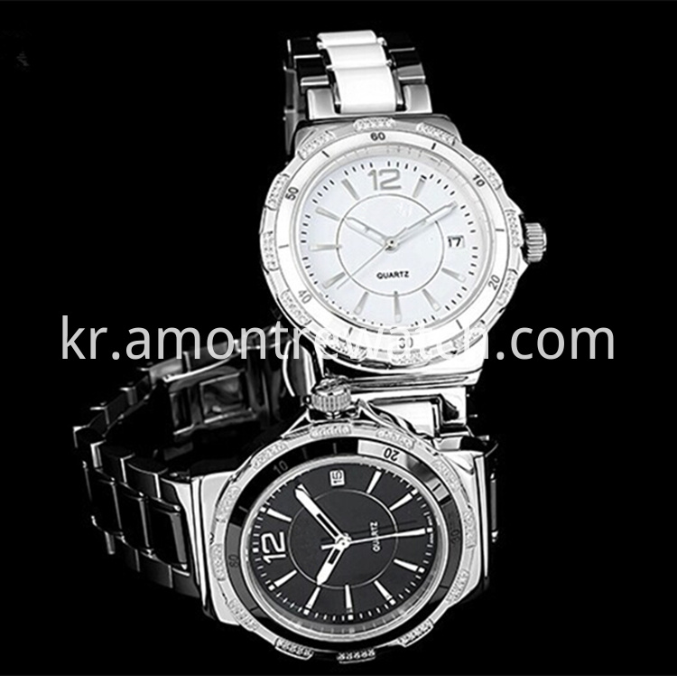 IsaBain couple fishion diamond watch_