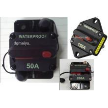 80А автозвук Инлайн Выключатель предохранитель для 12В Защита