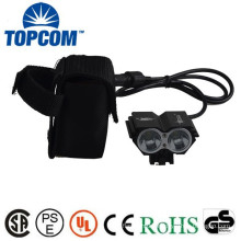High Power 2 XML LED Rechargeable Cycling Headlamp Bike Light Bicycle Front Light