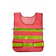 En471 Class 2 High Visibility Reflective Safety Vest (HL-SC05) /Wholesale Traffic Reflective Vest with Velcro High Visibility Safety Vest