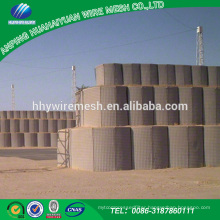 Hesco blast wall military sand waill hesco barrier from chinese merchandise