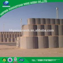 Hesco blast parede areia militar hesill hesco barreira da mercadoria chinesa