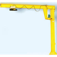 Good Quality for Small Pillar Jib Crane Workshop Used Floor Mounted Electric Hoist Jib Crane export to Tuvalu Supplier