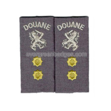 Epaulette with OEM or ODM Design Military Army Patch