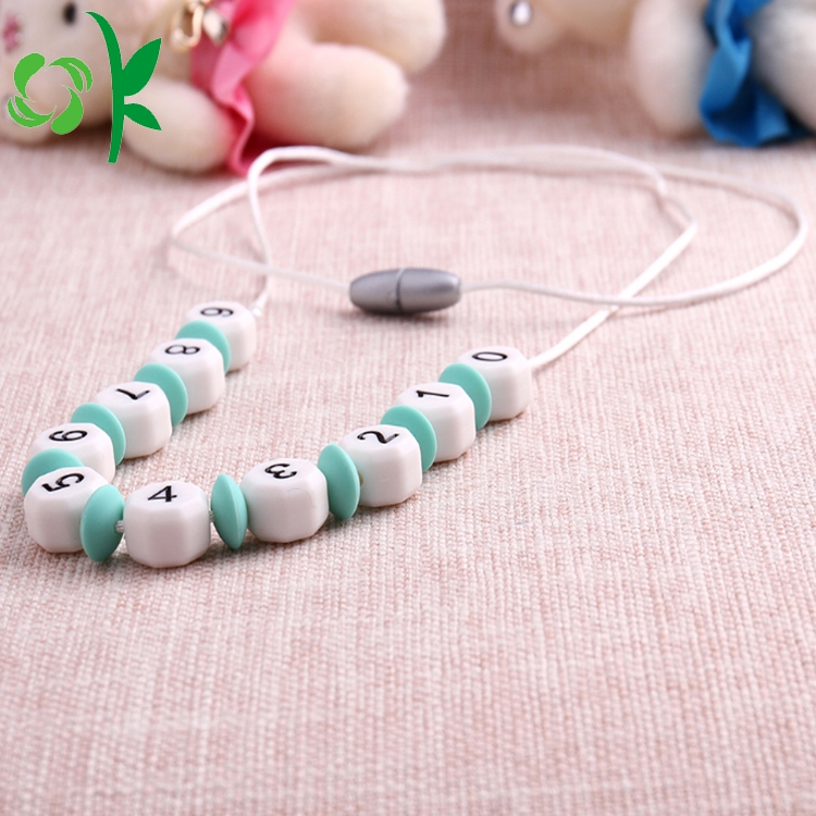 Irregular Shape Silicone Beads