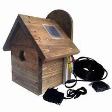Nest Box Camera with CMOS Image Sensor and 380TVL Resolution, Wireless Camera System