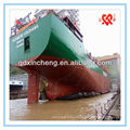 High quality of D=1.2 L=14m inflatable Salvage marine airbags for boat pontoons