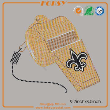 Good Quality for Fleur De Lis Applique Whistle Fleur De Lis wholesale iron on transfers supply to Pakistan Manufacturer
