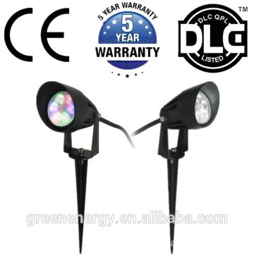 DLC UL IP67 6W 7W led light for garden landscape lighting LED lawn light outdoor park