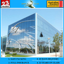 2-19 mm CE & SGS Flat Bent Curved Building Glass Glass