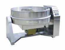 Stainless steel Industrial food mixer heated machinery