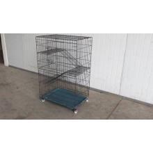 Chambre d'intérieur écologique de jeu de chat de cage d'animal familier pour la douche