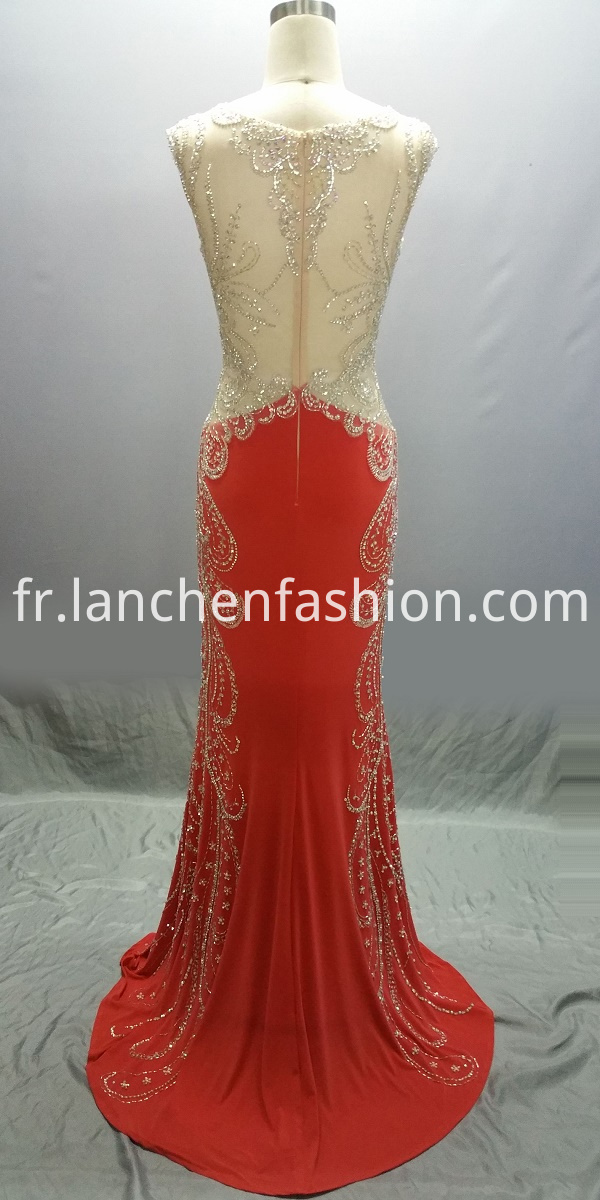 Sleeveless Evening Dress