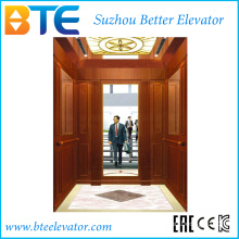 Mrl 1000kg Wooden Decoration Passenger Lift with Ce