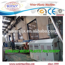 plastic PP PE PPR pipe production line