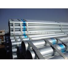 2014 Fábrica de Tianjin galvanizado erw tubo de acero soldado