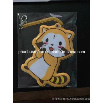5 * 7cm Cute Design Reflektor Katze