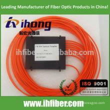 1*8 MM Multimode FBT fiber Optical splitter SC ST FC Connector