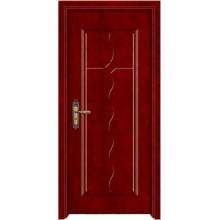 portas de núcleo sólido de madeira