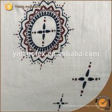 Tissu imprimé Zogift en tissu mousseline de coton bio, mousseline de bébé