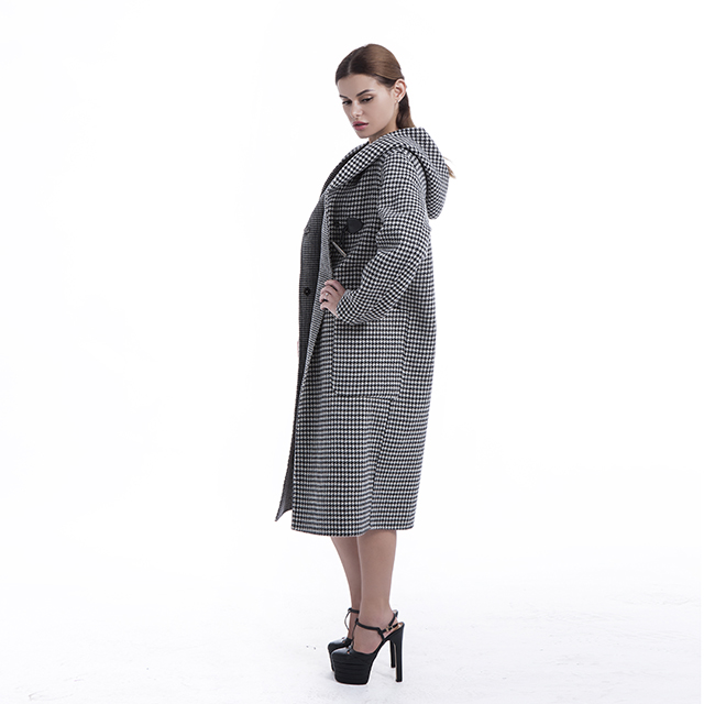 cashmere coat with Hat