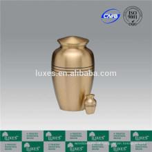 Castelo China Popular Urn Metal urna feita em China serviço de cremação Urn barato