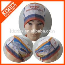 Bonnet chirurgical imprimé en coton de marque