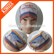 Brand cotton printed surgical hat