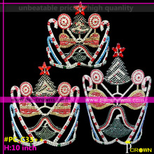 Christmas Tree Pageant Crowns,Candy cake Crowns