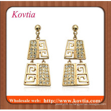 Ювелирные изделия в золоте Алжир широкий Дубаи золотые украшения серьги золото кулон серьги
