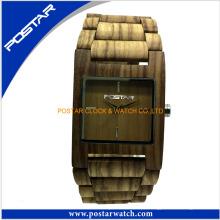 Relógios de madeira da venda quente nova da chegada para o relógio relativo à promoção dos homens