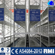 Jracking Warehouse rack automatic powder coating equipment