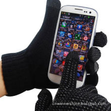 Nonskid 3 Fingers Touch Gloves with Thick Winter Warm Rivet OEM/ODM for iPod/iPhone/iPad/Free Sample