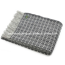 100%Woolen Wool Travel Picnic Throw