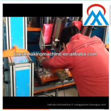 china 2 axes double touffetage des têtes balai faisant fabricant de la machine
