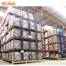 heavy duty double deep warehouse steel pallets racking
