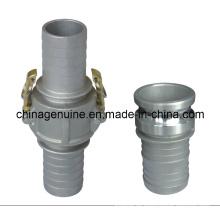 Adaptadores de acoplamiento de leva y ranura de acoplamiento de manguera de Zcheng