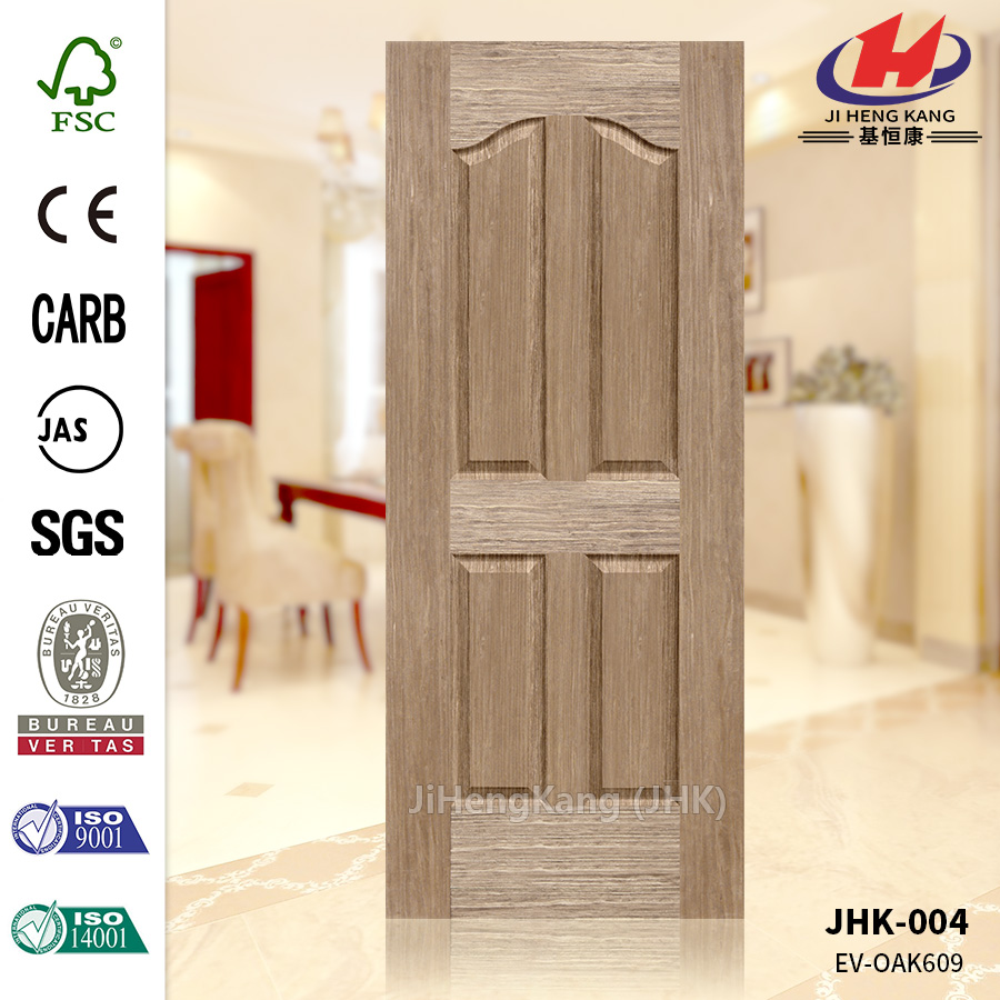 Economic EV OAK Veneer HDF Door Skin