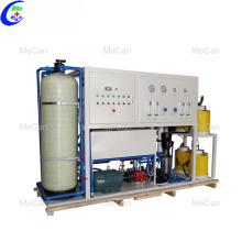 Dessalement de l'eau par le premier système de filtration par osmose inverse