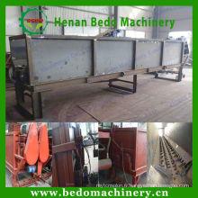 Machine d'épluchage d'écorce d'arbre Machine d'épluchage de bois de double rouleau