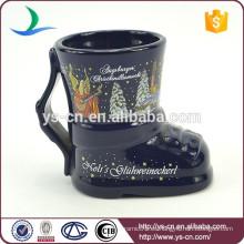 YScc0029-03 Cerámica bruja pequeñas tazas para los niños en vacaciones de Navidad