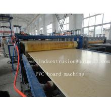 Esfola a máquina de produção de placa de espuma de PVC