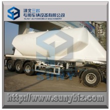 36 M3 Tanker Transport Cement 3 Axle Bulk Tanker Trailer
